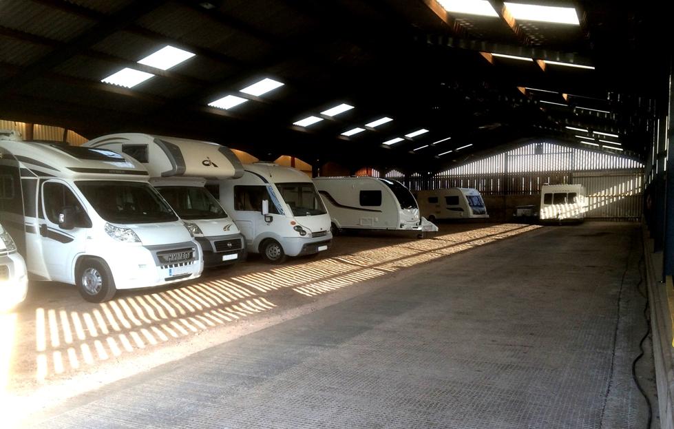 Caravans & Appleby Caravan Storage
